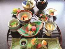 【1泊2食】夕食加賀会席満腹プラン