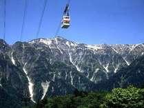 【ロープウェイ割引券付】 新穂高ロープウェイ山頂 標高2156mへ行こう♪~