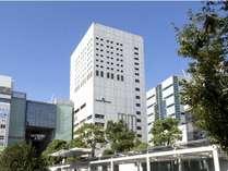 ホテル外観 JR川崎駅(東口)より徒歩1分です。