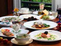 和洋折衷手作りフルコースディナー◇旬の食材や地元食材の自慢の手作り料理です。