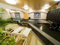 24時間利用可能な大浴場