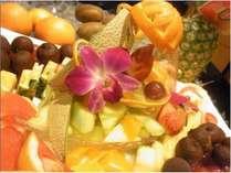 レストランオークのフルーツ
