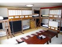 1号室(写真は部屋の1例ですのでお泊りは他の部屋になる場合が多くございますのでご注意ください。)