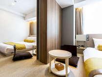 ご家族・グループには、2部屋をつなげるコネクティングルームが快適