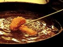 カラッと揚げた松茸のフライは絶品の風味です!