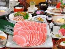 【メガしゃぶ】豪快!なんと一人前250gのお肉!≪ニジマスの塩焼き・ざる豆腐≫2014年10月~