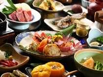季節のお料理/郷土会席料理。