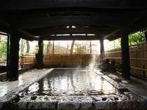 【大浴場】朝夕で男女交代制の露天、四季の湯