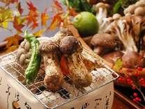 【松茸炭火焼き付】 秋限定の「贅沢郷土料理」プラン