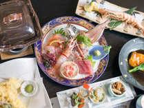*魚問屋だからお出しできる、獲れたての旬の味を存分にお楽しみください。