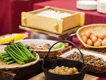 【朝食】 和食ブッフェ