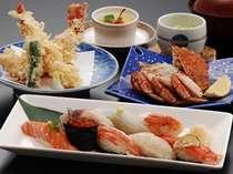 「北海道にぎり御膳」付1泊2食プラン【10/1~5/31まではスパ入り放題】