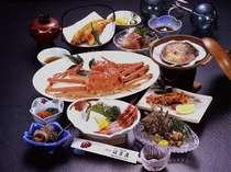 かに会席専門店が自信をもっておすすめする、かにと旬の魚料理