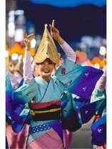 徳島といえば阿波おどり。踊らにゃソンソン♪