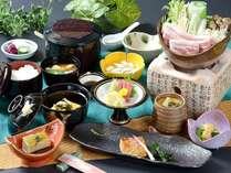 栃木産ゆめポークや特A米コシヒカリ「なすそだち」地産の食材が自慢の会席料理