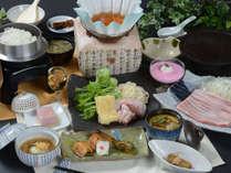 栃木県産・那須塩原の地元食材をふんだんに取り入れた自慢の会席料理(イメージ)201804TA