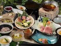 栃木県産・那須塩原の地元食材をふんだんに取り入れた自慢の会席料理(イメージ)201809GU
