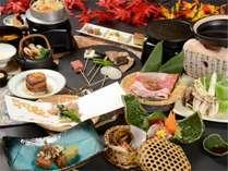 2018秋の会席料理の一例_彩