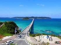 角島大橋まで車3分のリゾートホテルです