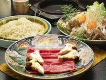 【秋の味覚会席】秋の味覚の王様『松茸』を贅沢に使った秋すきやき会席♪10月10日までの期間限定です☆