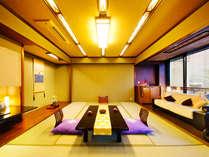 """【特別室-花鳥風月-】あたたかい光と、緑に包まれて過ごす癒しの時間。""""寛ぎ""""という名の贅沢を――。"""