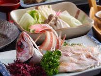 【じゃらん限定】 一度は食べたい!幻の魚『のどぐろ』会席 しゃぶしゃぶ&選べる料理法