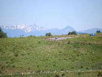 ビーナスラインの絶景!北アルプスの槍ヶ岳も綺麗です。