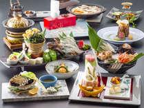 ■premium会席■当館料理長が贈る、至高の美味の競宴がここに。