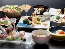 ◆ご夕食は絶品海の幸をお楽しみいただける和食会席(イメージ)