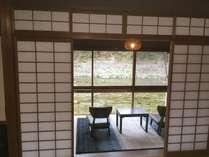 【タイムセール】1泊2食。名湯奥津温泉「河鹿の湯」と季節の会席に舌鼓。源泉掛け流し温泉。