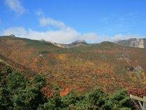 安達太良山 紅葉の見頃は10月上旬から中旬