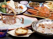 冬の味覚の王様!かに・カニ・蟹のオンパレード!調理法によって異なる蟹の旨みを味わえます♪