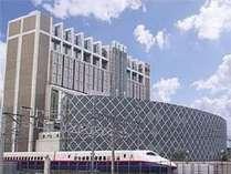 長野駅東口のランドマークタワー