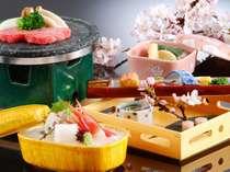【春】季節感いっぱいの春のお料理の一例