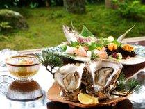 季節感いっぱいの夏のお料理の一例