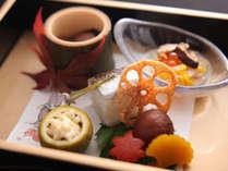 【旬彩膳】前菜:秋の前菜