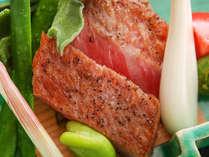 【氷見牛】焼物:氷見牛炙り -延楽ではA4ランク以上のクオリティの氷見牛を取り扱っておます。-