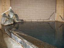 ボイラー無しの源泉100%かけ流し、24時間入浴可能です。