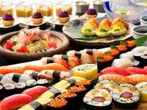 『ロイズ』ファミリーSUSHIバイキング:寿司、デザートをお好きなだけ