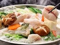 ★あつあつのふぐ鍋★をお楽しみください♪