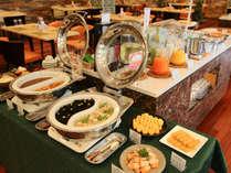 山口県の食材を取り入れた和食・洋食の朝食バイキング
