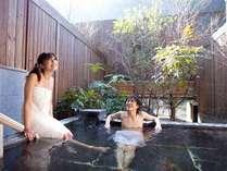 【吉祥の湯】貸切風呂で源泉かけ流しを満喫!