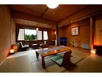 ◆和室8畳(シャワートイレ・洗面付)の客室!