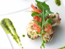 【片岡シェフお料理】期間限定でイタリアンの巨匠片岡護シェフ監修のディナーが登場致します。