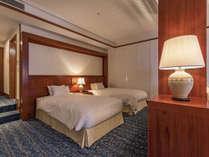 【プレミアジュニアスイート】48平米の広々とした客室。