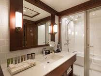 【プレミア海峡デラックスツイン】プレミアルームは全室バストイレ別。洗面台もあり快適。