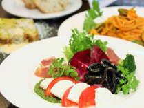 世界の旬食材を使用した究極のイタリアンをお召し上がり下さい。