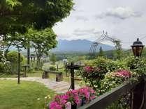 入笠山麓ですが、その名の通り、ビュー八ヶ岳のメゾン。