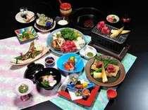 料理長特撰会席*料理写真は一例で、時期により器・食材・調理法が変わる場合が御座います。
