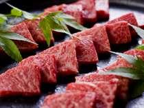 クチコミでも高評価の飛騨牛料理。味もボリュームも大満足!